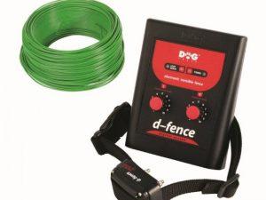 Dogtrace D-Fence 101 láthatatlan kerítés elektromos kutyakerítés 100m vezetékkel