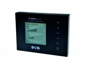 Dogtrace D-Fence 202 láthatatlan elektromos kutyakerítés szünetmentes táppal fekete vezeték nélkül